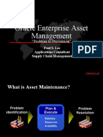 Oracle EAM Mainenance Benefits