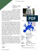 Europol - Wikipedia, La Enciclopedia Libre