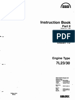 Instruction Book Part 2 | Engines | Mechanical Engineering on