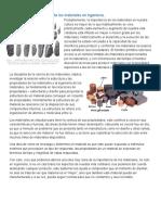 Ciencia e Ingenieria de Materiales - Estructura, Arreglos y Movimientos de Átomos