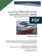 PESCA ARTESANAL - Propuesta- Manual de Bpm- Ep-Atico- 2016