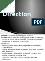 Direction-Motivation