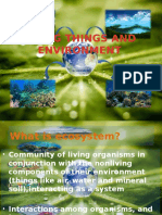 Living Things and Environment