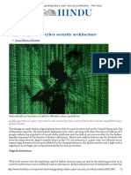 Upgrading India's Cyber Security Architecture