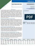 Construction Sector Update BCA Securities