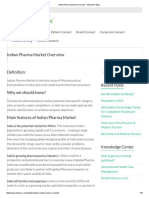 Indian Pharma Market Overview