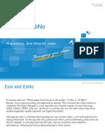 Presentation Basic EcIo and EcNo