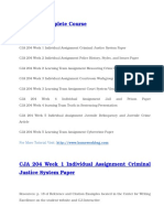 CJA 204 Complete Course Files