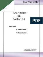 Notes On Sales Tax.pdf