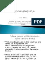 Politička geografija 8.