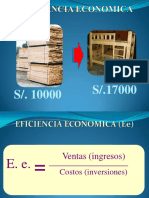 2.- Eficiencia económica