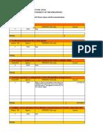 CIAP 2015 AFR Significant AORs Format