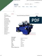 Weichai CNG WP12NG Engine