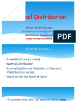 2. Normal Distribution