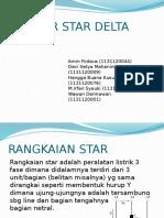 Presentasi Starting motor Star Delta