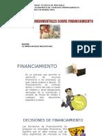 Decisiones Fundamentales Sobre Financiamiento