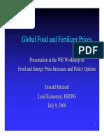 Mitchell Food Fertilizer Prices