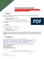 Objectives Procedure