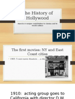 The History of Hollywood