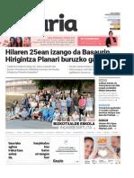 021. Geuria aldizkaria - 2016 iraila