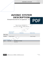 Avionic System Description