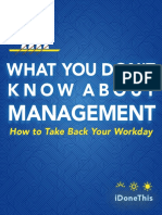 What You Dont Know About Management
