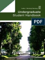 Undergraduate Student Handbook 2016