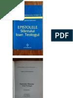 Epistolele Sfantului Ioan Teologul - Arhimandrit Iustin Popovici