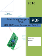 Interfacing Stepper motor with MPLAB Xpress Evaluation Board