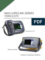Masterscan Series 700M & D70