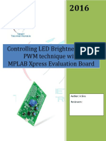 PWM in MPLAB Xpress Evaluation Board