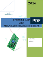 MPLAB Xpress Evaluation Board Breathing_LED