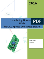 MPLAB Xpress Evaluation Board IR_sensor