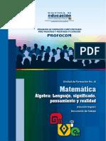 UF 16 Matemática