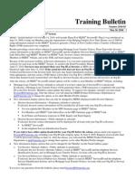M E R S Training Bulletin - Re Identifying Investors on MERS® System
