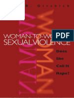 Lori B. Girshick. Woman-to-Woman Sexual Violence