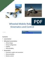 Mobile Robots Kinematics