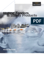 Cushion Rolling Fenders for Pontoons & FS