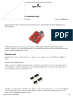 SparkFun Ethernet Shield Quickstart Guide - SparkFun Electronics