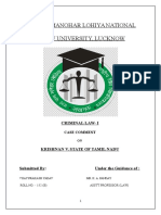 Criminal Law Project