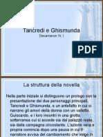 Educazione Letteraria 05 Tancredi e Ghismunda.ppt