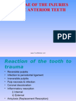 Sequelae of Injury to Anterior Teeth II Pedo