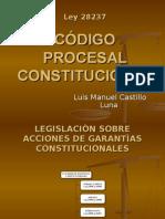 TITULO PRELIMINAR DEL CÓDIGO PROCESAL CONSTITUCIONAL