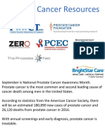 Prostate Cancer Resources