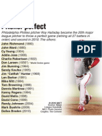 Perfect Pitchers in Major League Baseball