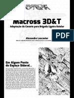 3D&T Alpha - Macross