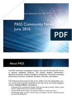 Microsoft SQL Server PASS News June 2010