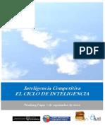 Inteligencia Competitiva. EL CICLO DE INTELIGENCIA