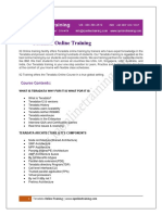 Tera Data online training by Experts