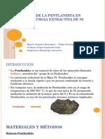 Oxidación de La Pentlandita en Pirometalúrgia Extractiva De
